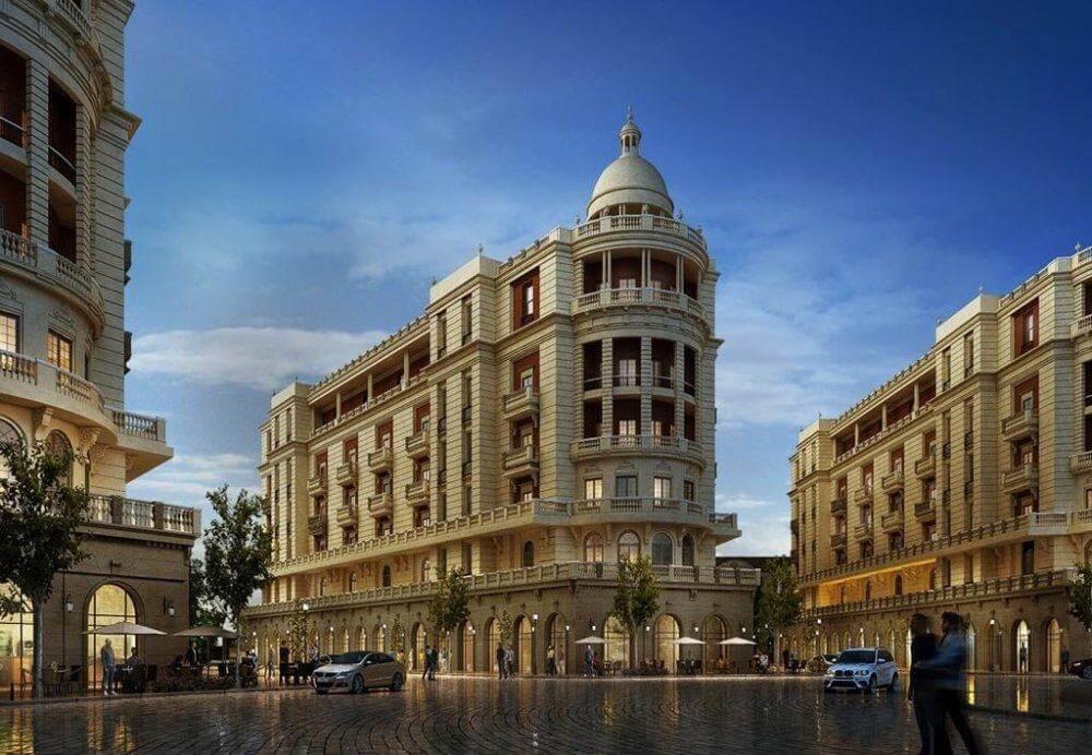 باروك العاصمة الادارية الجديدة